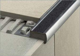VDB Vloer- & Tegelwerken - Profilé escalier